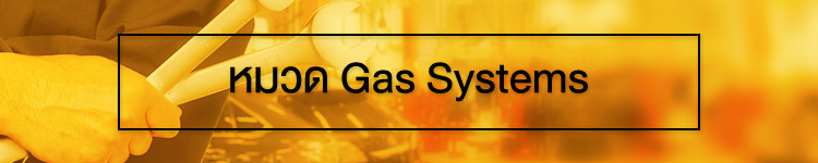Gas system banner